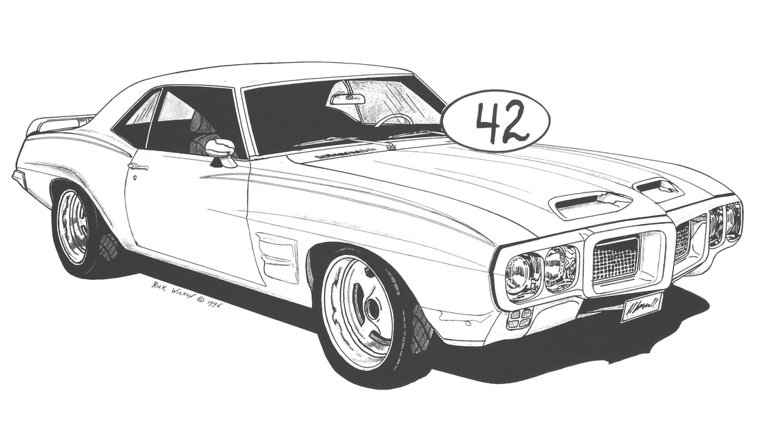Page 9 Custom Car Hot Rod Drag Racing Art Prints By