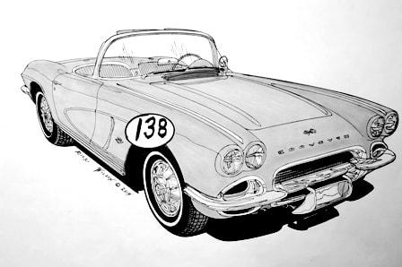 Page 8 - CUSTOM CAR, HOT ROD, DRAG RACING ART PRINTS BY RICK WILSON